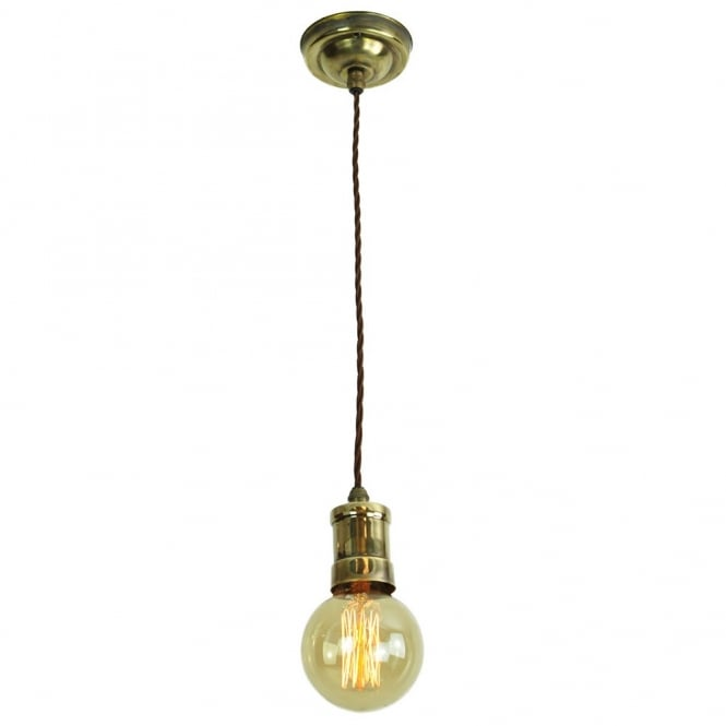 bare bulb light fittings on deep rich golden tones made