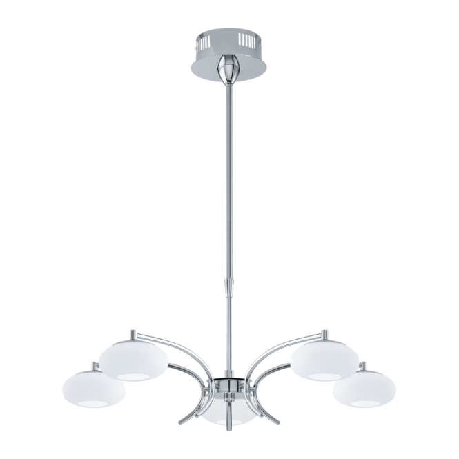 EGLO ALEANDRO 5 light rise and fall ceiling light