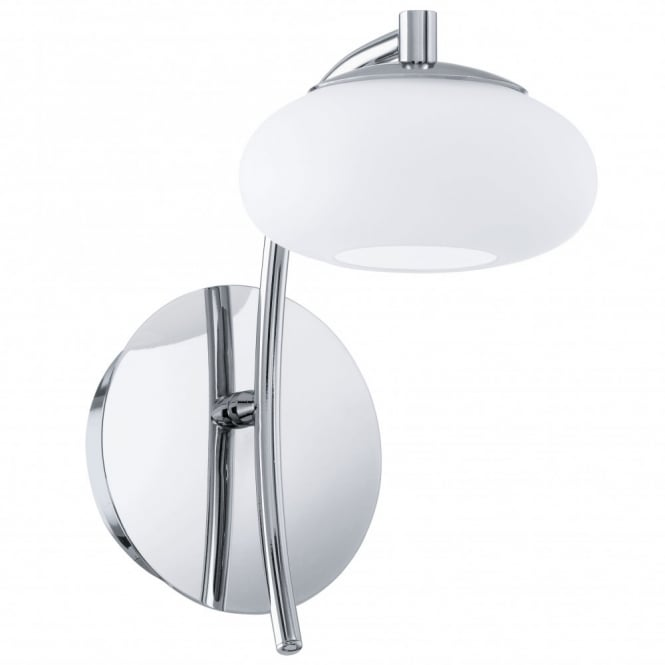 EGLO ALEANDRO modern LED polished chrome wall light