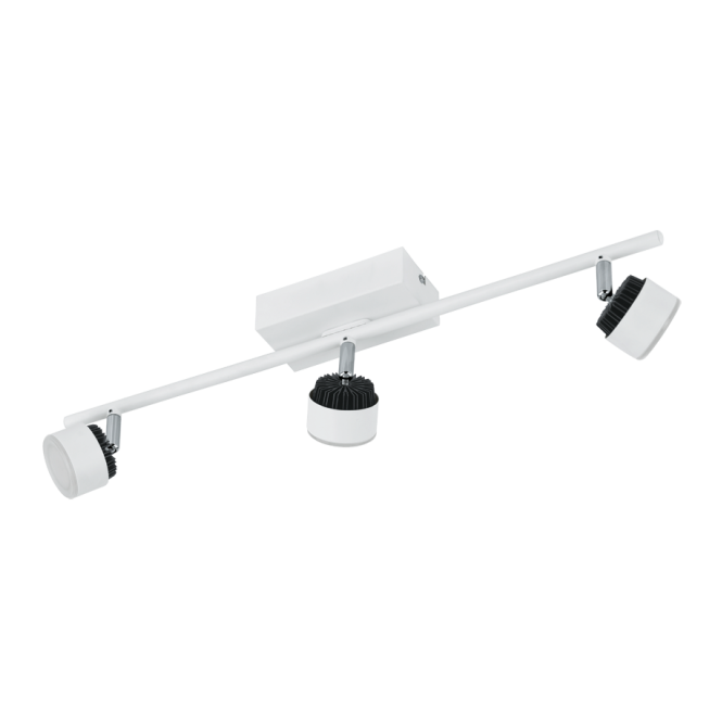 EGLO ARMENTO contemporary white LED spot light bar (3 light)