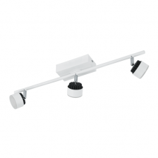 ARMENTO contemporary white LED spot light bar (3 light)