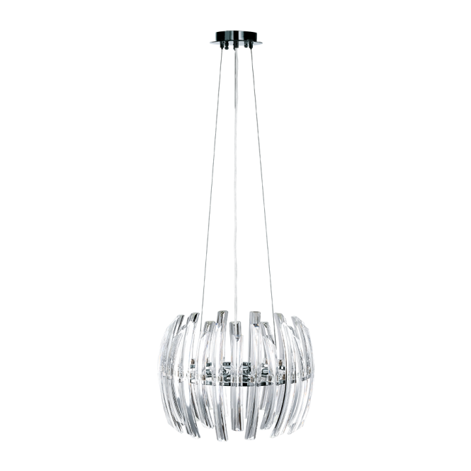 EGLO DRIFTER modern crystal ceiling pendant (small)