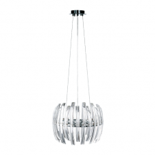 DRIFTER modern crystal ceiling pendant (small)