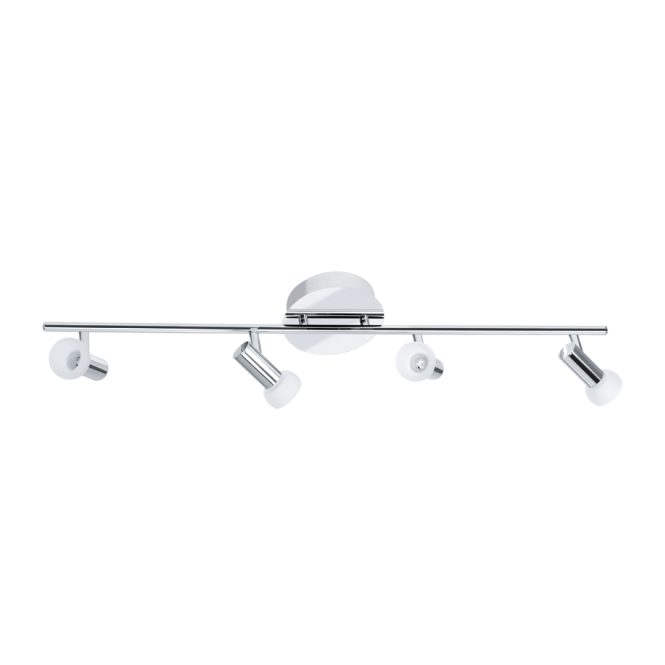 EGLO GLOSSY 1 modern LED ceiling spot light bar, double insulated