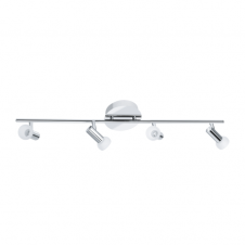 GLOSSY 1 modern LED ceiling spot light bar, double insulated