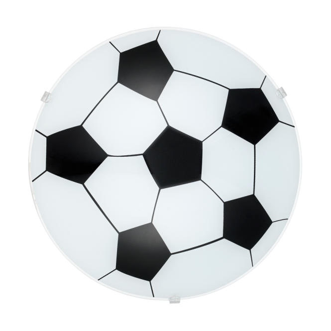 EGLO JUNIOR 1 children's football patterned ceiling light