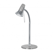 flexible chrome desk lamp for studies