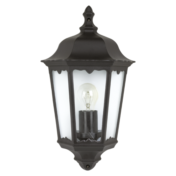 Traditional Garden Wall Light, Flush Fit And IP44 Rating