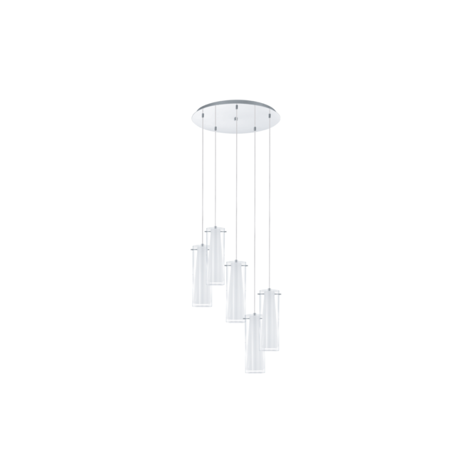 EGLO PINTO contemporary ceiling cluster pendant
