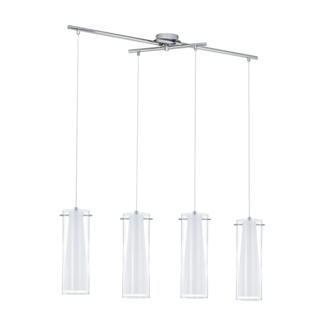EGLO PINTO modern ceiling bar pendant (4 light adjustable)