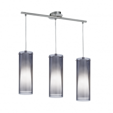 PINTO NERO modern ceiling bar pendant (3 light)