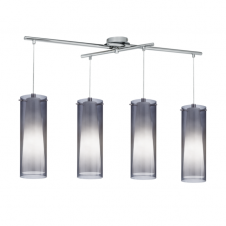 PINTO NERO modern ceiling bar pendant (4 light adjustable)