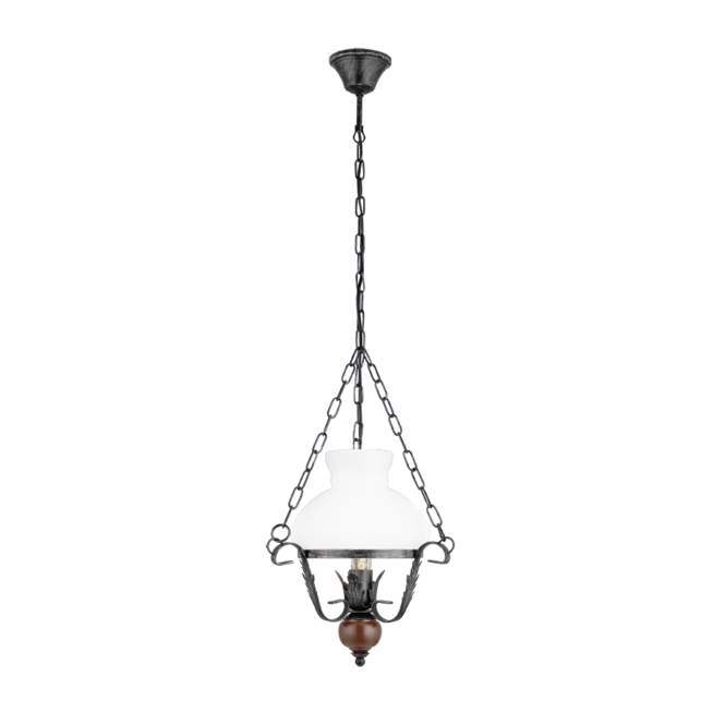EGLO RUSTIC 7 ceiling pendant in the style of a period oil lamp