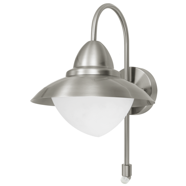 Garden Wall Light with Sensor, IP44 Rated an Ideal Security Light