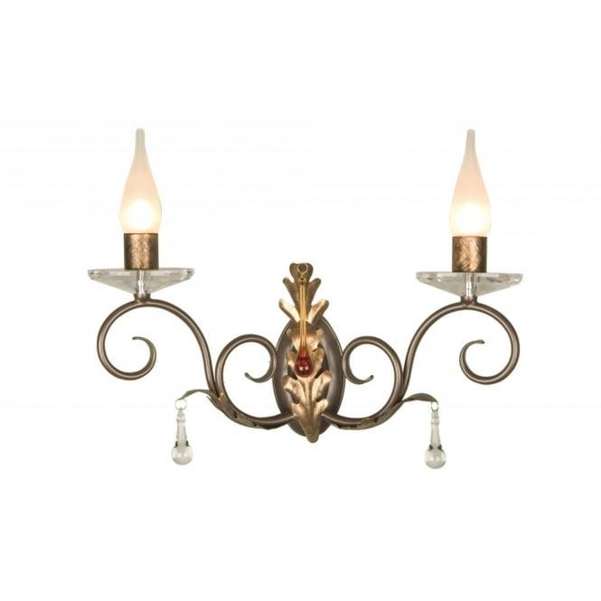 Traditional Bronze Wall Lights : Bronze Bathroom Wall Light, Traditional Candle Bathroom Rated Wall Light