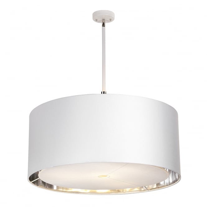 BALANCE XL ceiling pendant in white finish