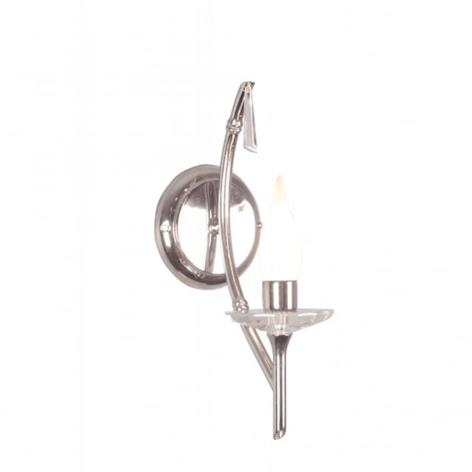 Elstead Lighting BRIGHTWELL traditional bathroom wall light, chrome