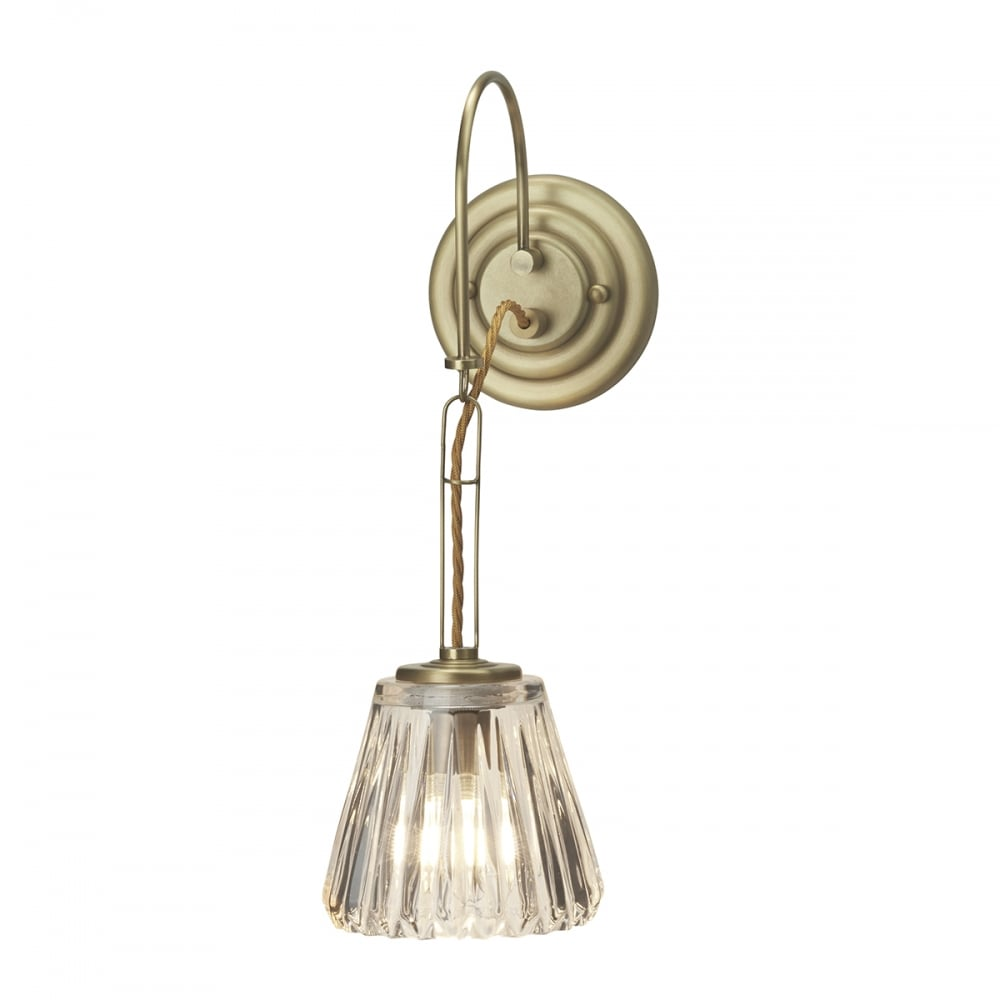 brass bathroom lights decorative single bathroom wall light in brushed brass 12156