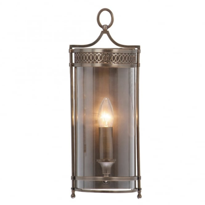Elstead Lighting GUILDHALL traditional wall lantern, dark bronze finish