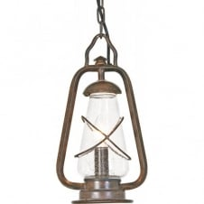 MINERS traditional porch or outdoor hanging lantern
