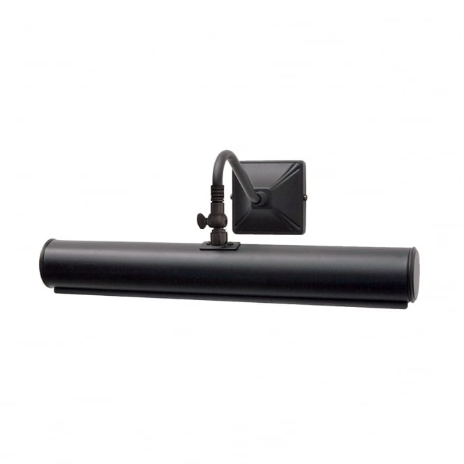 PICTURE LIGHT traditional plain black picture light