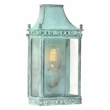 REGENTS PARK traditional verdigris outdoor wall lantern