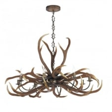 EMPEROR stag ceiling light