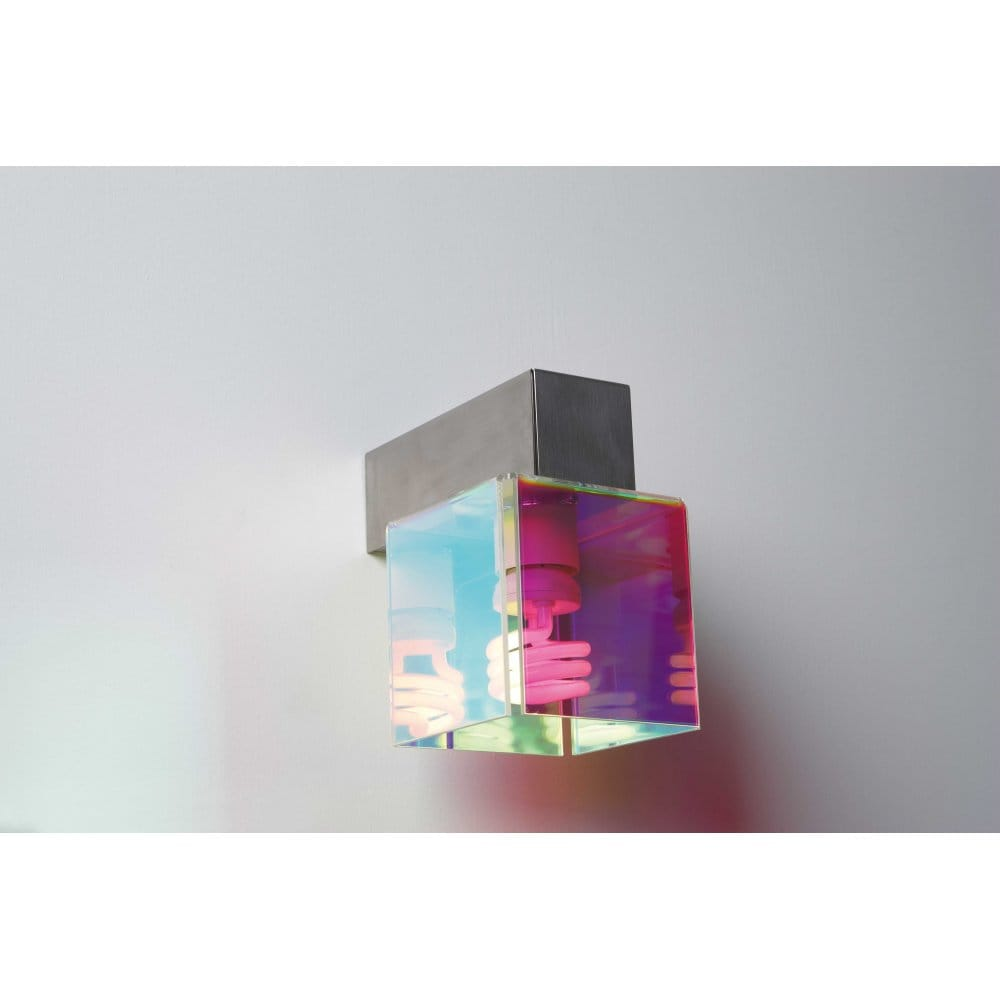 DIDADADO Italian Designer Multi-Coloured Cube Wall Light