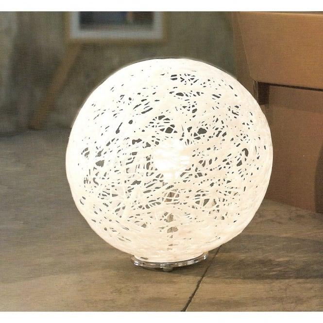 Reload Italian Design Large White Globe Floor Light
