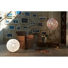 RELOAD Italian design multicolour globe floor standing light