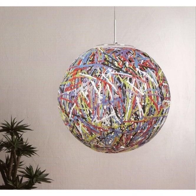 Reload italian designer large multi coloured globe pendant light reload italian designer multi coloured globe pendant light aloadofball Choice Image