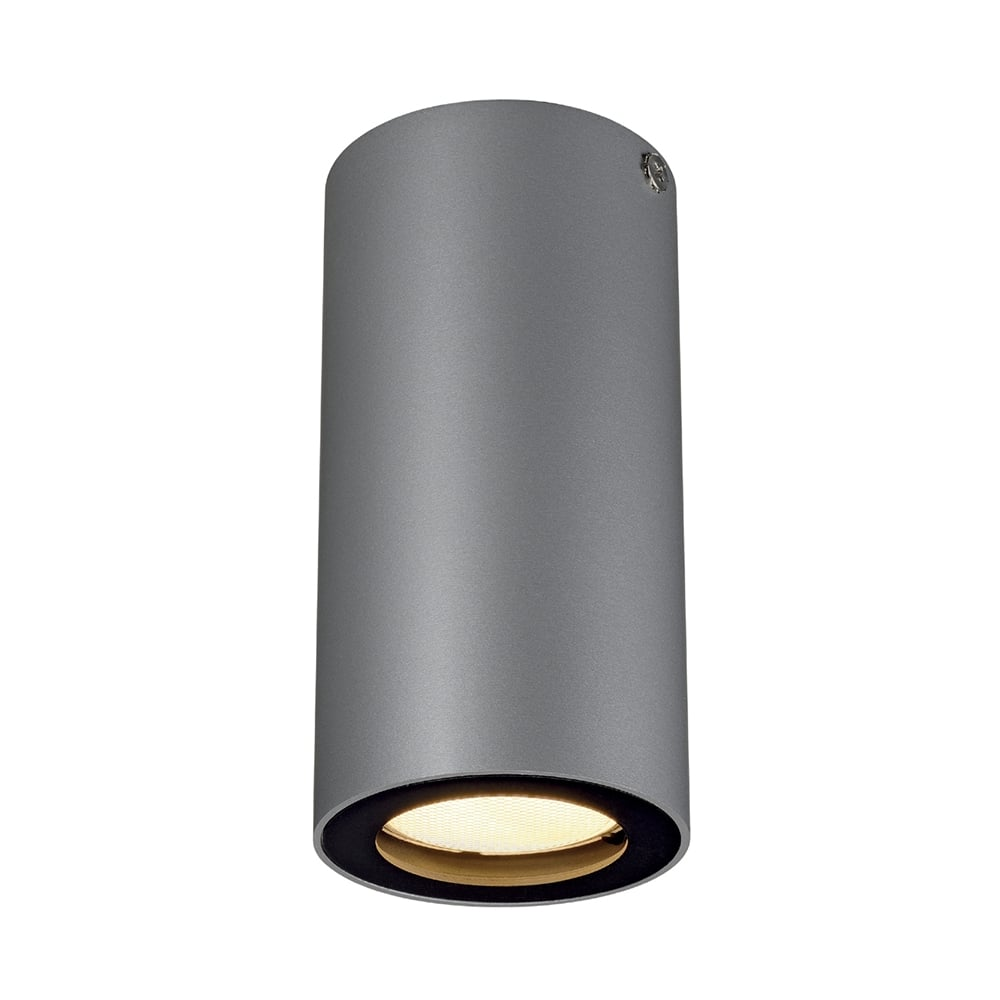 Aluminium Tube Shaped Spotlight That Fits Flush To Ceiling