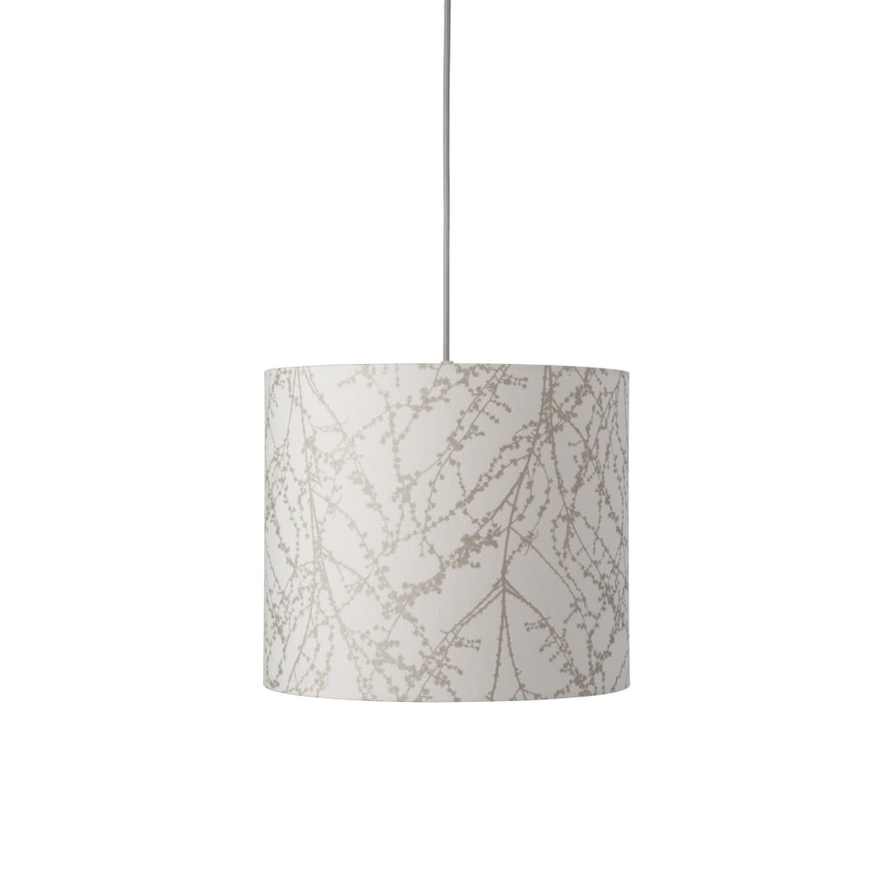 White Silver Branch Lamp Shade for Lamp or Pendant | Lighting Company