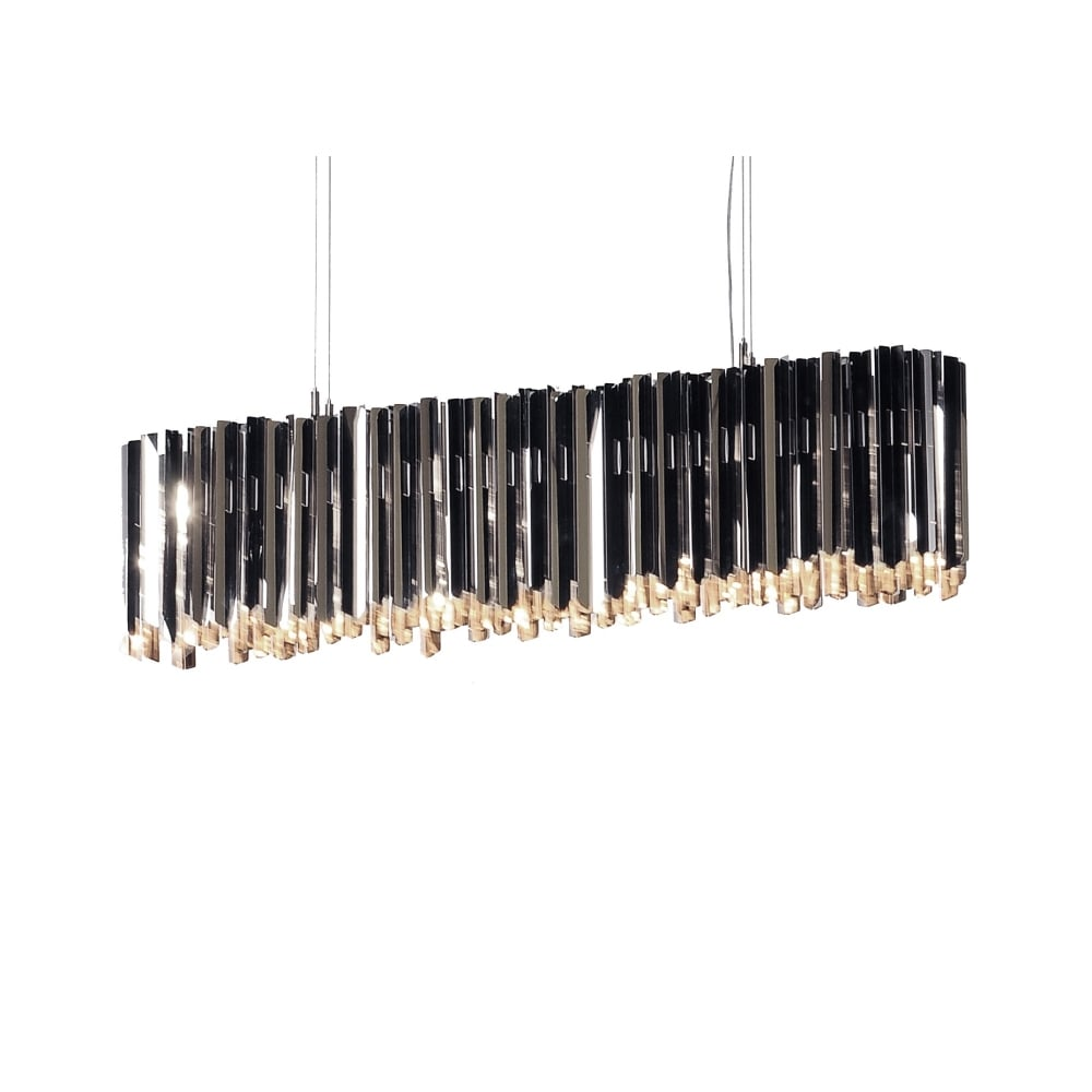 Polished stainless steel chandelier pendant bar lighting company chandelier pendant bar in polished stainless steel mozeypictures Gallery
