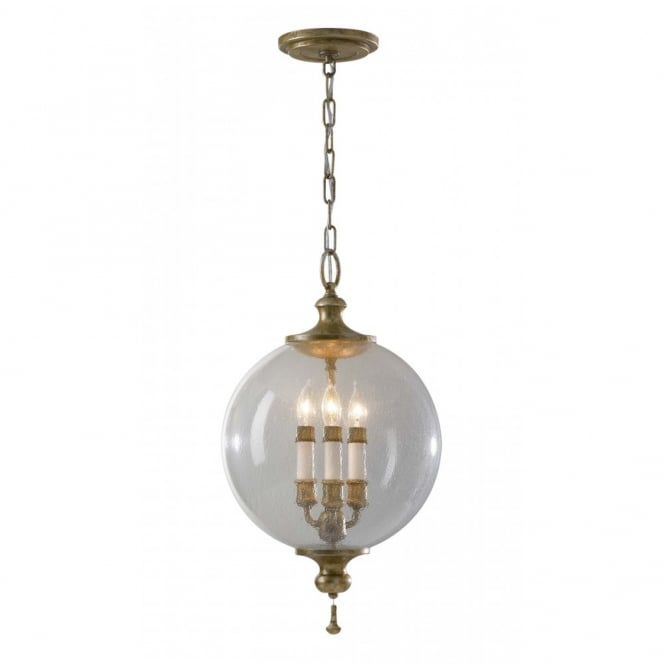Feiss ARGENTO traditional ceiling pendant light