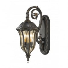 BATON ROUGE traditional exterior wall lantern, medium