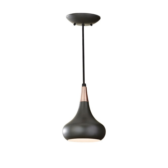 BESO retro style dark bronze ceiling pendant light (small)