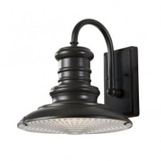 REDDING STATION vintage bronze outdoor wall light (medium)