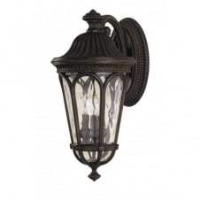 REGENT COURT traditional garden wall lantern, large