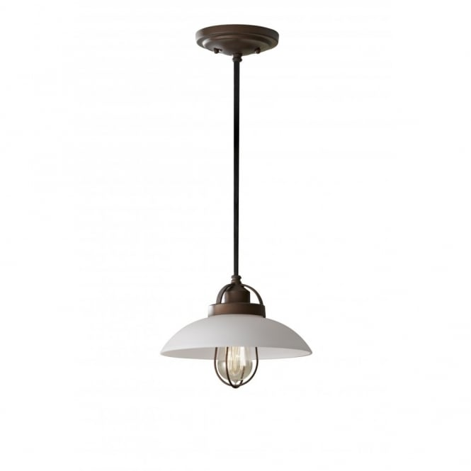 Feiss URBAN RENEWAL traditional bronze ceiling pendant light