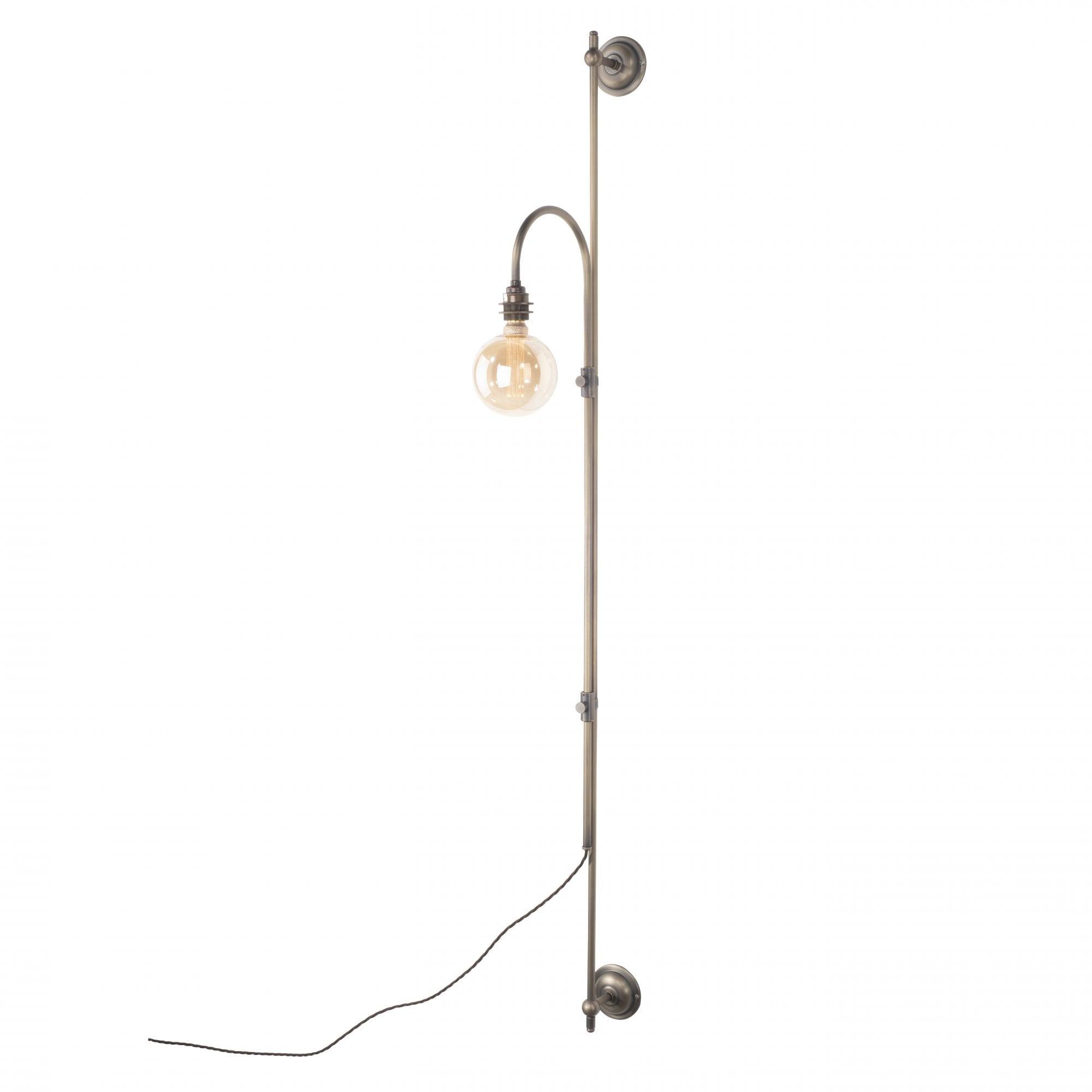 Image of: Wall Mounted Light Plug In Designer Wall Light Tall Wall Light