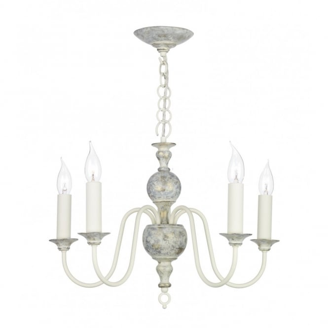 FLEMISH distressed finish ceiling light