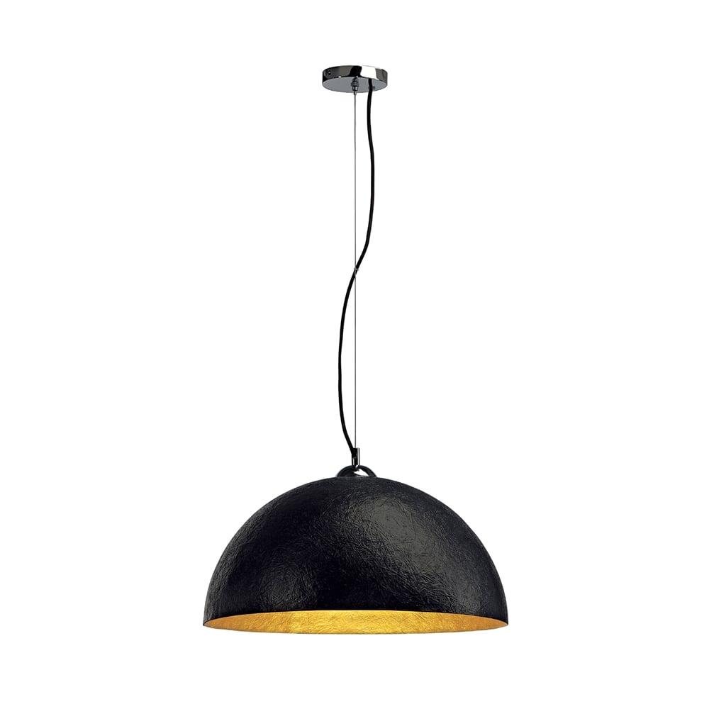 Nice FORCHINI Large Black Ceiling Pendant Light