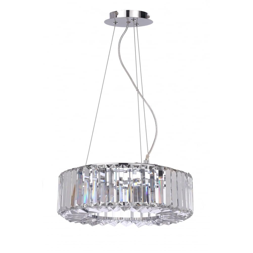 4 Light Crystal Bathroom Chandelier   Lighting Company