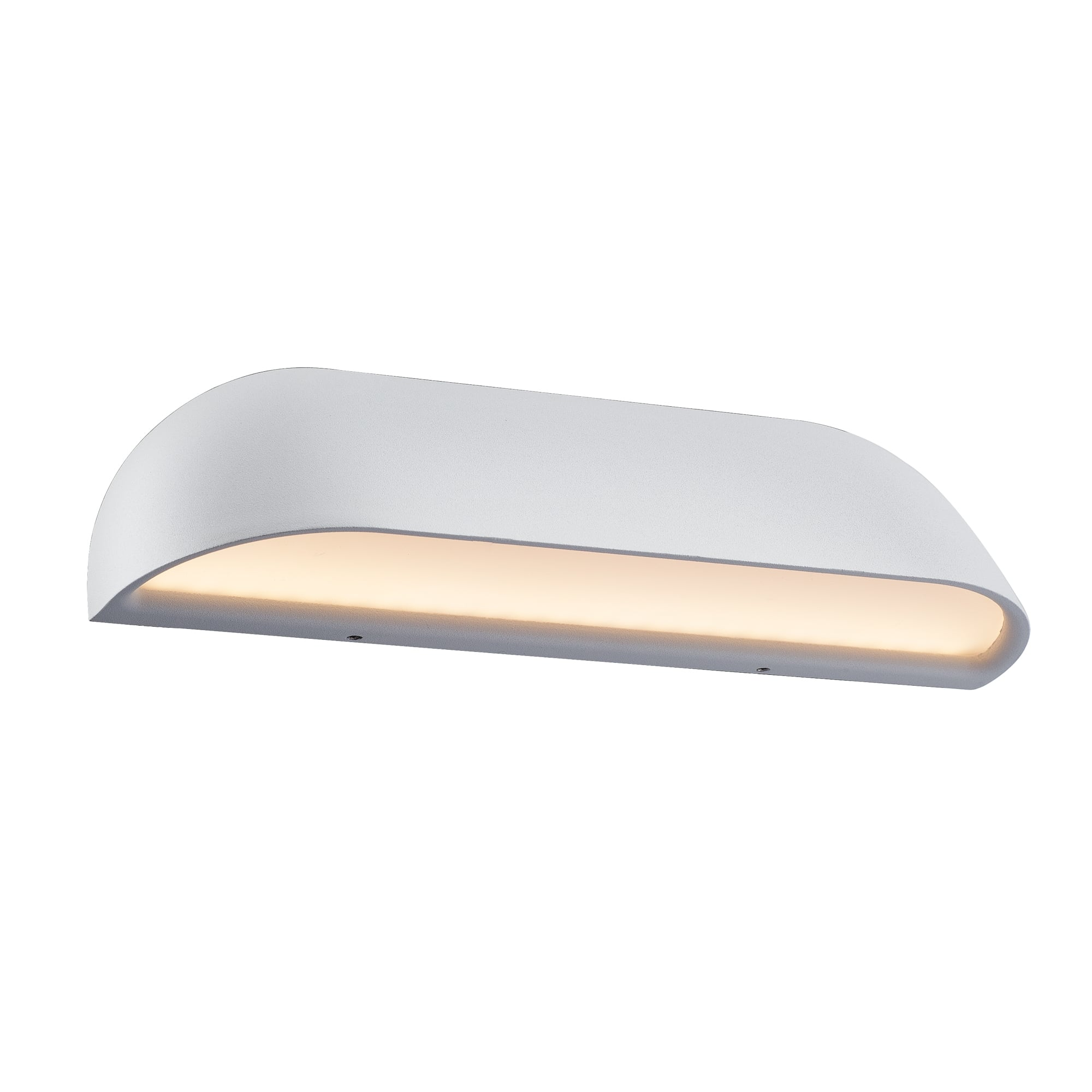 Contemporary Led Outdoor Wall Washer Light In White