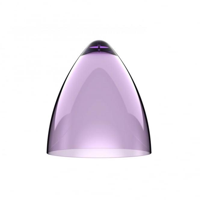 Transparent low energy purple ceiling pendant light shade funk transparent purple pendant light shade part of a set aloadofball Images