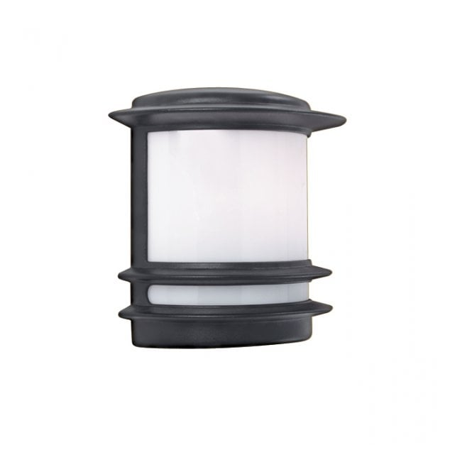 Garden wall light black aluminium half lantern ip44 rated garden wall light black aluminium half lantern ip44 aloadofball Image collections