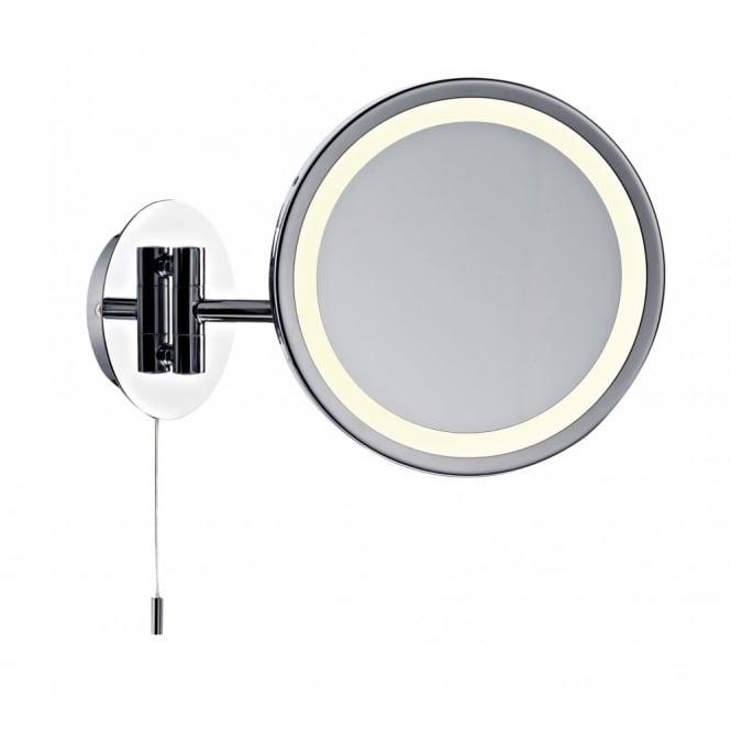Modern Illuminated Bathroom Mirror With Pull Switch