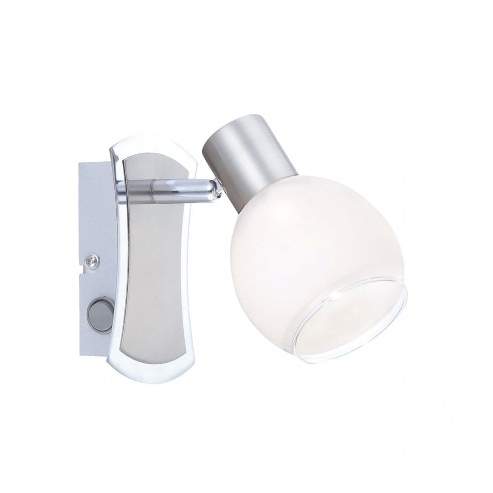 Modern LED Wall Light, Low Energy, Individually Switched Wall Light