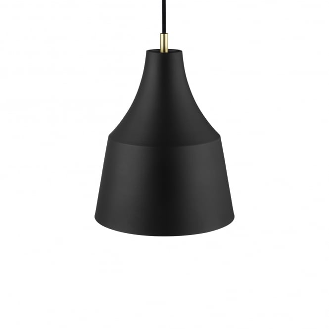 GRACE 25 contemporary ceiling pendant in black